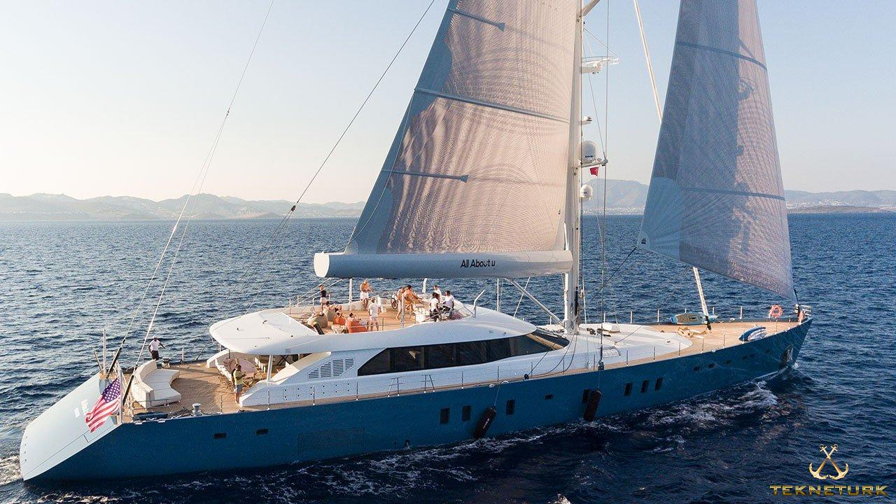 ALL ABOUT YOU - Luxury sailing yacht